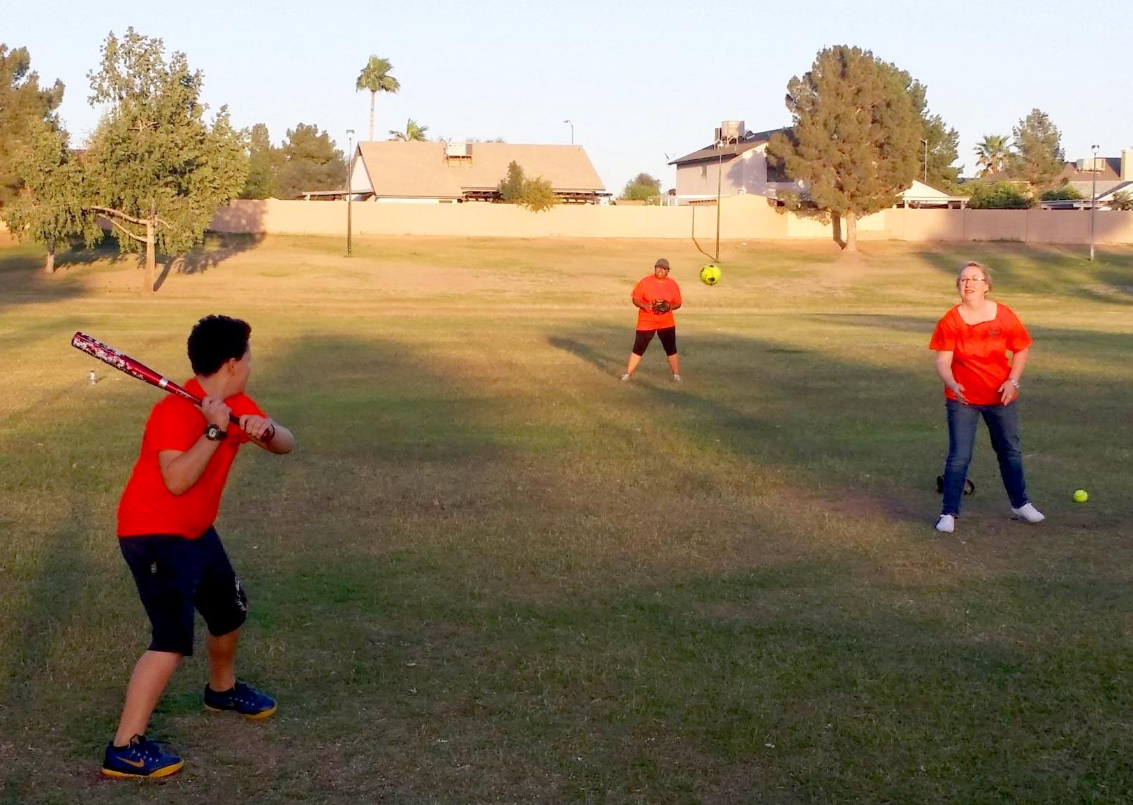 YOUNG TMOTHYS AT BASEBALL